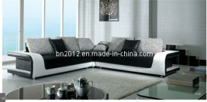 Living Room Genuine Leather Sofa (B-333) pictures & photos