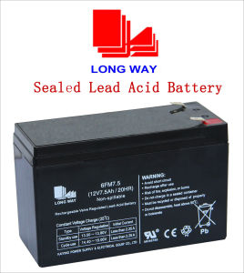 12V Toys UPS Valve Regulated Lead Acid Battery pictures & photos
