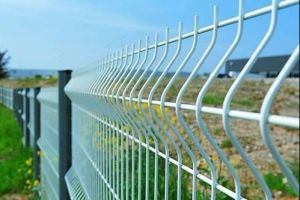 PVC Coating Welded Wire Fence pictures & photos