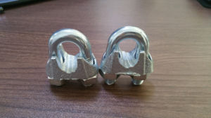 Rigging Hardware Us Type Carbon Steel Galvanized or Hot Dipped Drop Forged Wire Clamps pictures & photos