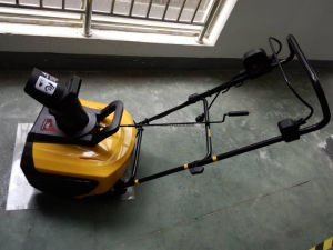 "1600W Electric Snow Blower 18"" pictures & photos"