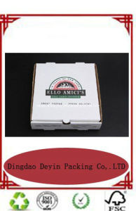 White Pizza Box for Packaging