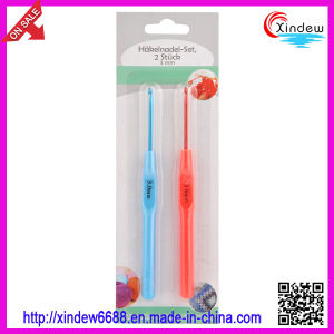 Aluminum Crochet Hook with Plastic Handle (XDAH-001) pictures & photos