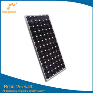 Semi Flexible Solar Panel with High Efficiency (SGM-195W)