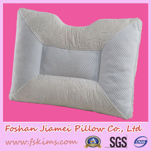 Bordeaux Natural Latex Pillow with Neck Protector