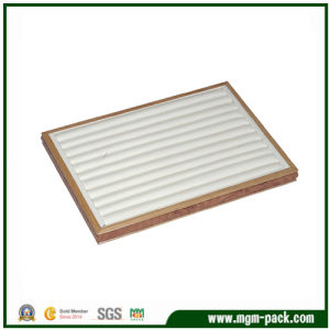 Wholesale PU Leather Jewelry Wooden Box/Display Tray/Jewelry Display pictures & photos