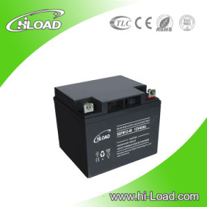12V 40ah Long Life Deep Cycle Solar Gel Battery pictures & photos