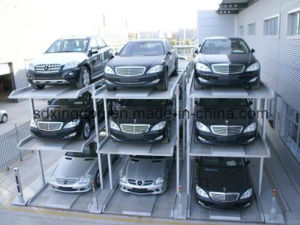 Tow Post Car Parking Lift/Hydraulic pictures & photos