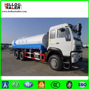 China 25000L Fuel Tank Truck Sinotruk 6X4 Heavy Fuel Tank Truck pictures & photos