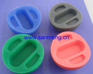 Custom Molded Colors Silicone Rubber Product Part pictures & photos