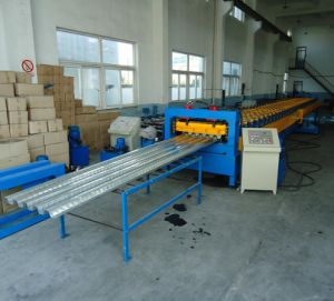 Steel Form Deck Roll Forming Machine pictures & photos