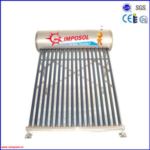 200L Compact Stainless Steel Unpressurized Solar Water Heater pictures & photos