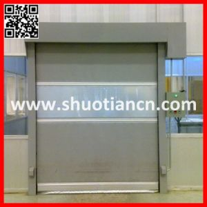 Automatic Industrial Rolling Fast Sensor Door (ST-001) pictures & photos