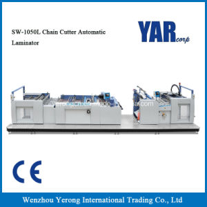 Sw-1050L Chain Cutter Automatic Film Laminating Machine with Ce pictures & photos