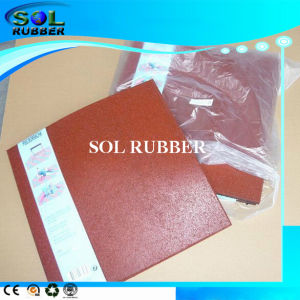 CE Certificated Special Packed Outdoor Rubber Tile pictures & photos