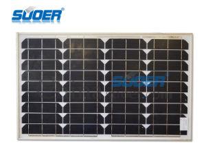 Mono-Crystalline Solar Panel 35W 18V pictures & photos