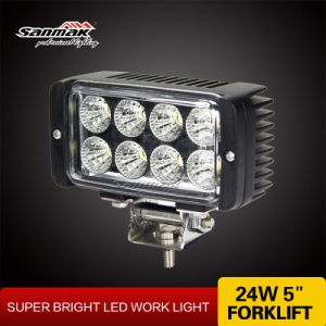 High Output 24watt 5 Inch LED Work Light pictures & photos