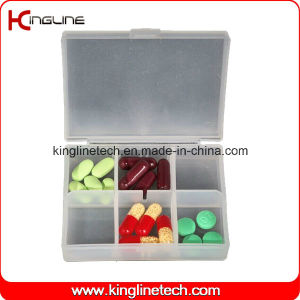 Plastic 6-Cases Pill Box (KL-9116) pictures & photos