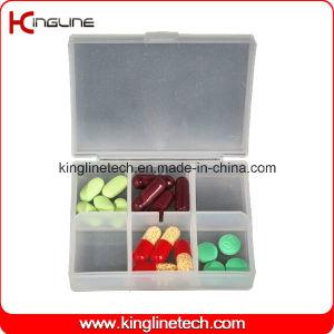 Plastic 6-Cases Pill Box (KL-9116) pictures & photos
