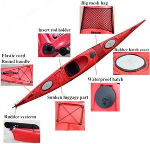 520 Cm One Person Cheap Sea Kayak for Sale pictures & photos