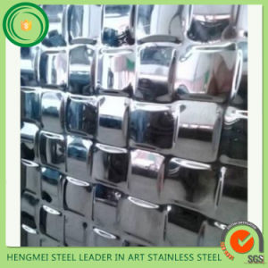 SGS 304 316 201 Stamping Stainless Steel Sheets Emboss for Wall Decor Pannle pictures & photos