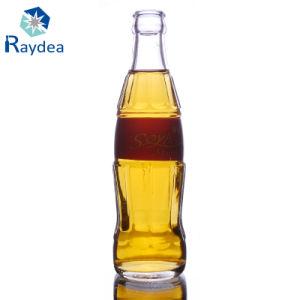 Hot Sale Coca-Cola Shaped Glass Beverage Bottle pictures & photos