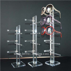 Acrylic Floor Standing Sunglasses Display Rod Btr-E1030 pictures & photos