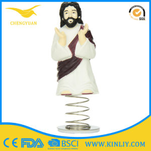 Wholesale Home Ornaments Resin Jesus Figurines for Car pictures & photos