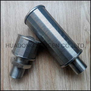 Erosion Resistance Johnson Wedge Wire Water Filter Nozzle pictures & photos