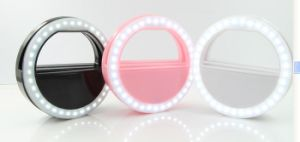 Take Their Mobile Phone Beauty Lights LED Self Artifact Light Red Live USB Flash Charging Network pictures & photos