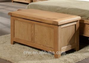 OA-4083 Solid Oak Bedroom Ottoman Blanket Box pictures & photos