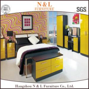 Bedroom Sliding Clothes Cabinet MDF Wardrobe pictures & photos