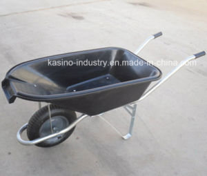 Europe High Quality Hand Wheel Barrow with Plastic Tray (WB5600) pictures & photos