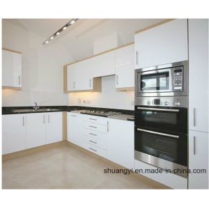 2017 Cheap Price PVC Kitchen Cabinet of Kitchen Furniture White pictures & photos