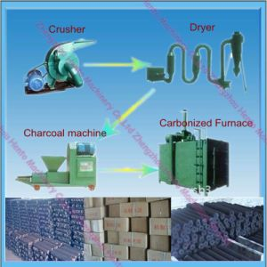 Wood Charcoal Making Machine From China Supplier pictures & photos