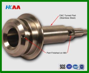 Chromium Nickel Stainless Steel CNC Turned Part pictures & photos