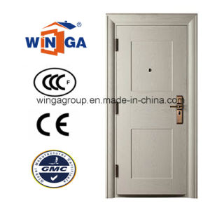 Building Project House High Quality Exterior Steel Door (Building (W-S-12A) pictures & photos