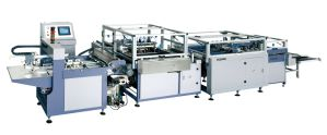 Machine for Book-Type Boxes Making pictures & photos