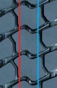 Precured Tread Rubber for Tire Retreading-Pattern T