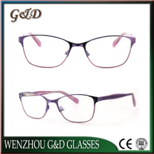 High Quality Metal Eyewear Eyeglass Optical Frame 52-310 pictures & photos