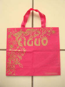Branded Non-Woven Shopping Bags for Garments (FLN-9053) pictures & photos