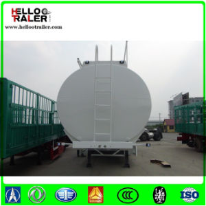 3 Axles 13 Ton Mono-Block Cylinder Oil Storage Tank Semi Trailer Tanker pictures & photos