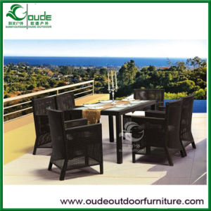 Outdoor Garden Rattan Dining Table Set