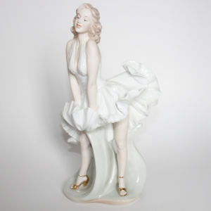 Young Lady Figurine Sculpture Marilyn Monroe (C-2049)