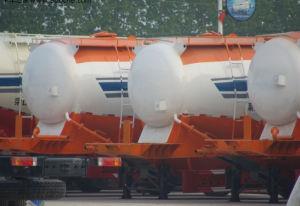 3 Axles Bulk Cement Transport Tanker Semi Trailer pictures & photos