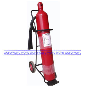 50lbs Wheeled CO2 Fire Extinguisher pictures & photos