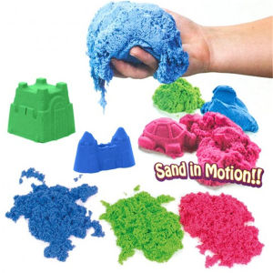 Activity China Wholesale Non-Toxic Moving Space Sand pictures & photos