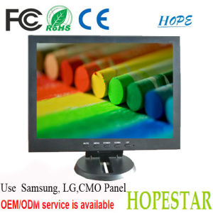 Industrial High Brightness 10 Inch LCD Monitor AV TV VGA HDMI pictures & photos