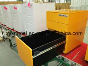 Gt-11 High Quality Metal File Cabinets on Wheels pictures & photos