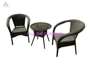 Rattan Wicker Sofa Table Cushioned Garden Patio Furniture Set pictures & photos